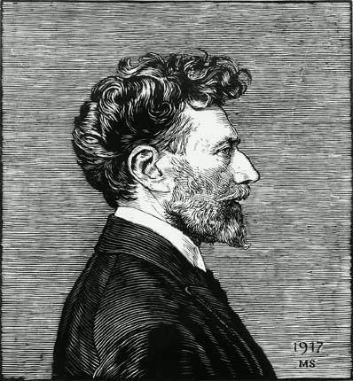 Чешский живописец Макс Швабинский (Max Svabinsky)
