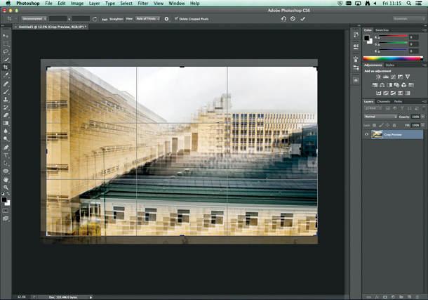 Идея абстрактного городского пейзажа 5