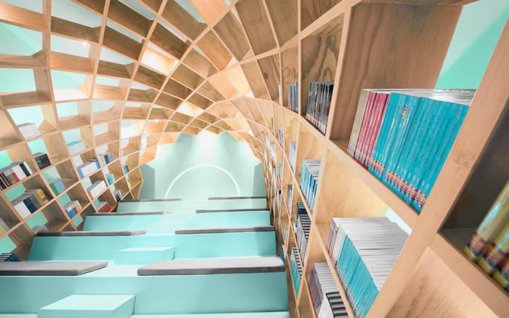 Необычная библиотека в Мехико 2