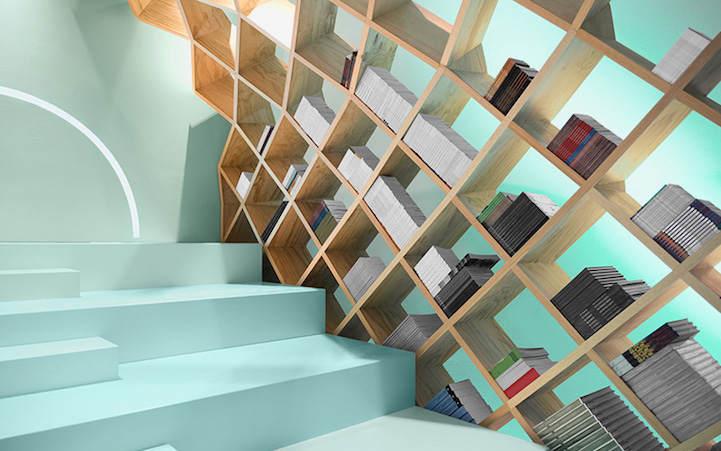 Необычная библиотека в Мехико 3