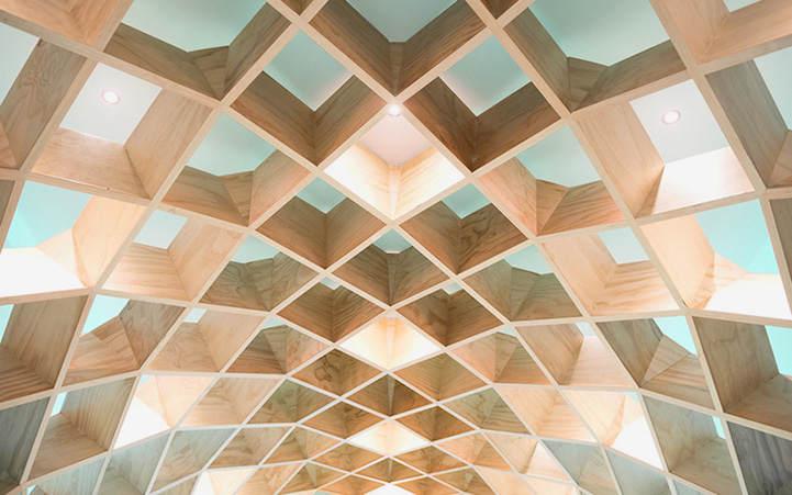 Необычная библиотека в Мехико 6