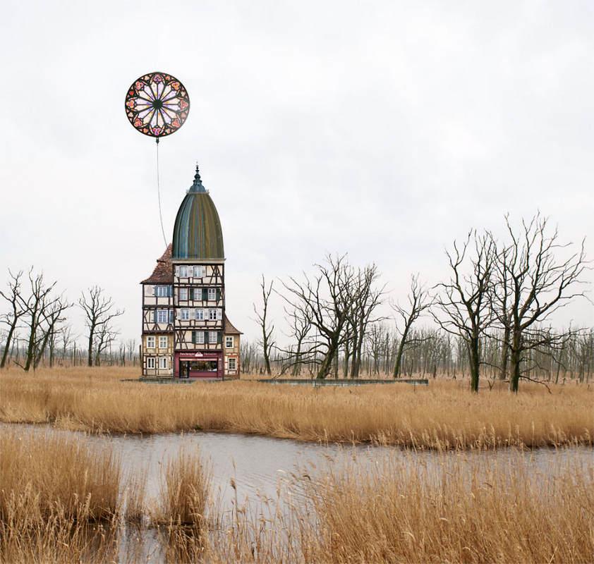 Сказочные домики Матиаса Юнга (Matthias Jung)