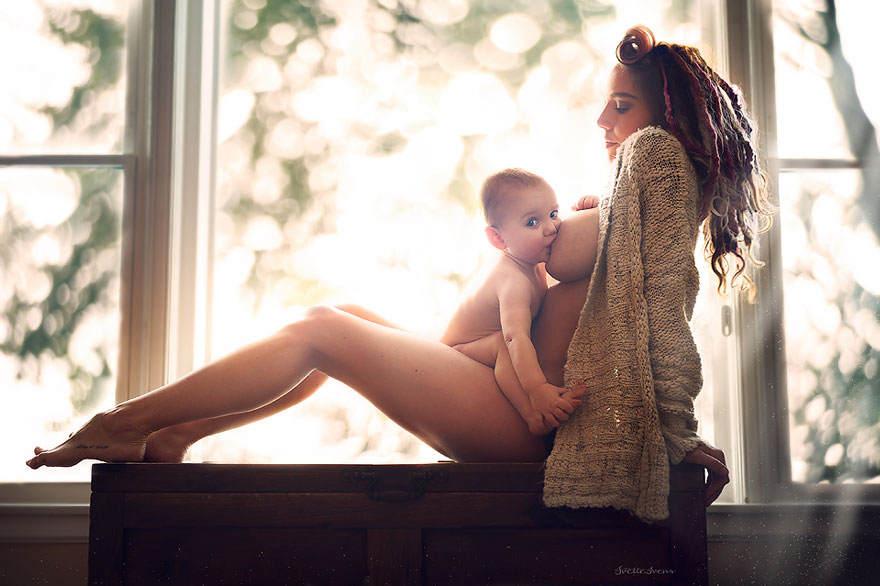 Красота материнства в фотографиях Ivette Ivens