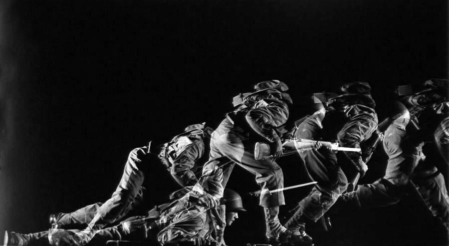 Фотографическая абстракция Гьена Мили (Gjon Mili) 7