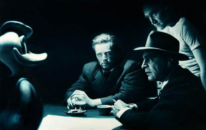 Искусство вопросов Готфрид Хельнвайн (Gottfried Helnwein)