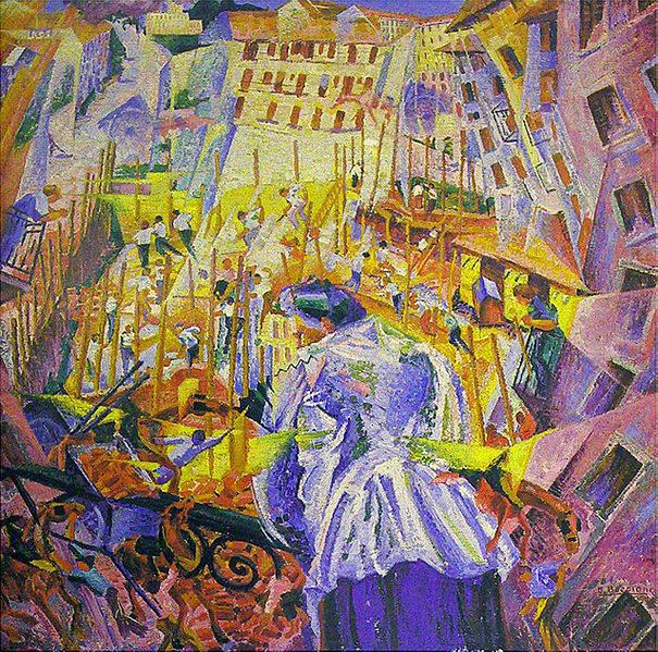 Итальянский футуризм Умберто Боччони (Umberto Boccioni) 14