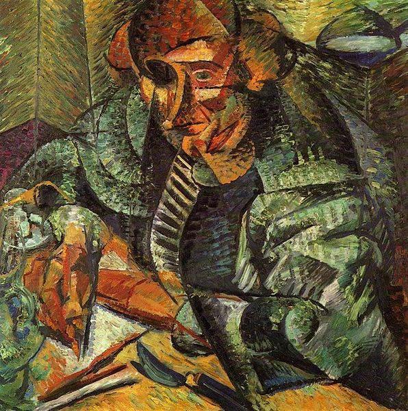 Итальянский футуризм Умберто Боччони (Umberto Boccioni) 17