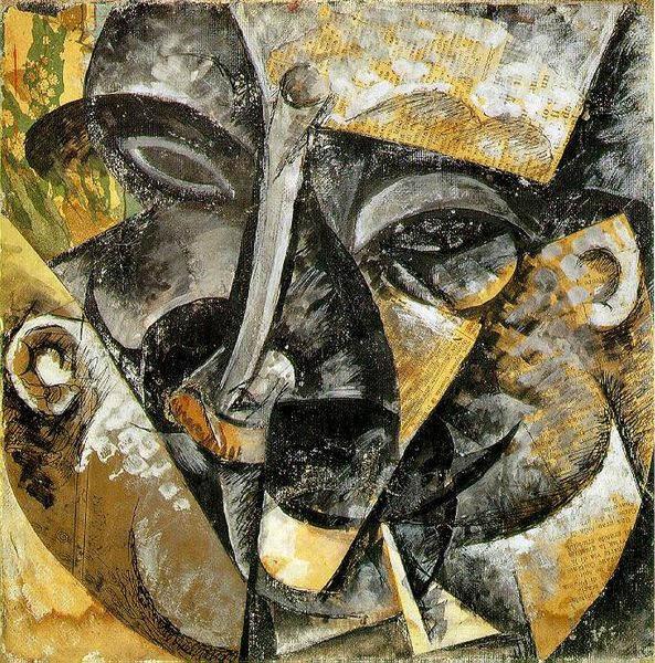 Итальянский футуризм Умберто Боччони (Umberto Boccioni) 18