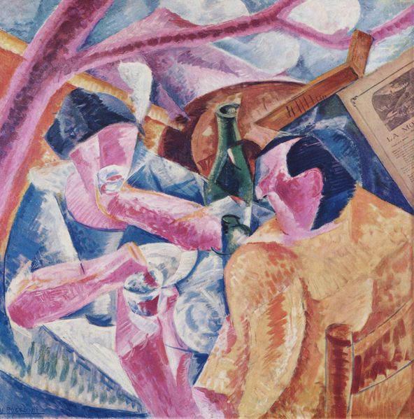 Итальянский футуризм Умберто Боччони (Umberto Boccioni) 2