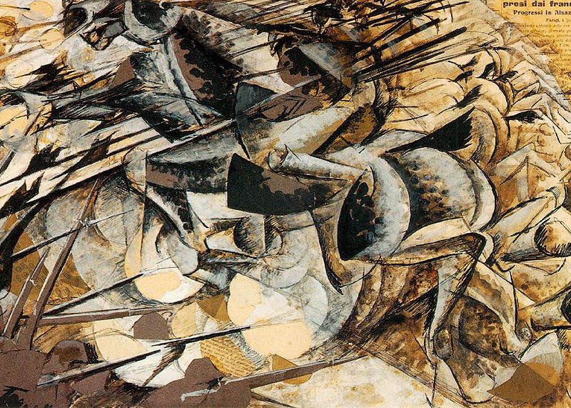 Итальянский футуризм Умберто Боччони (Umberto Boccioni) 21