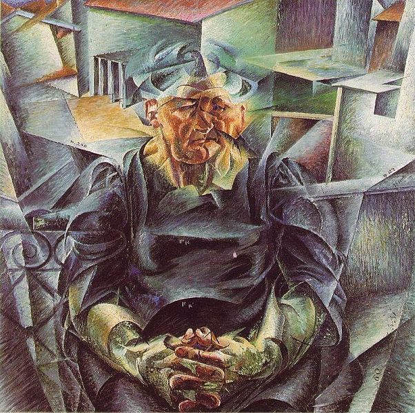 Итальянский футуризм Умберто Боччони (Umberto Boccioni) 22