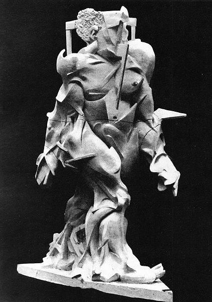 Итальянский футуризм Умберто Боччони (Umberto Boccioni) 4