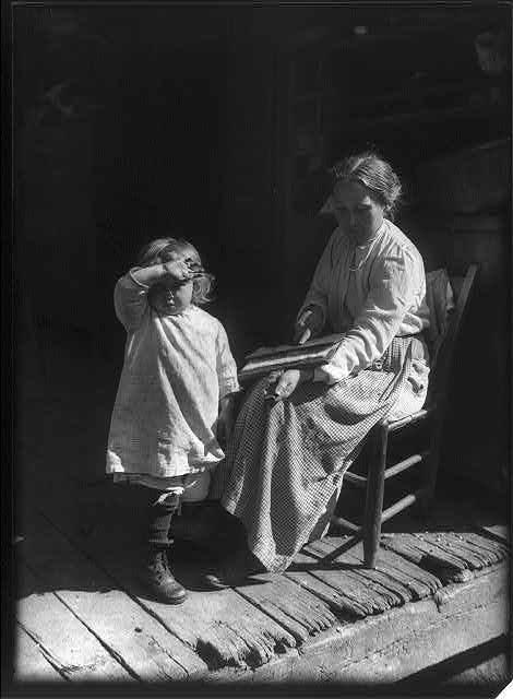 Американский фотограф начала 20-го века Уильям А. Барнхилл (William A. Barnhill) 5