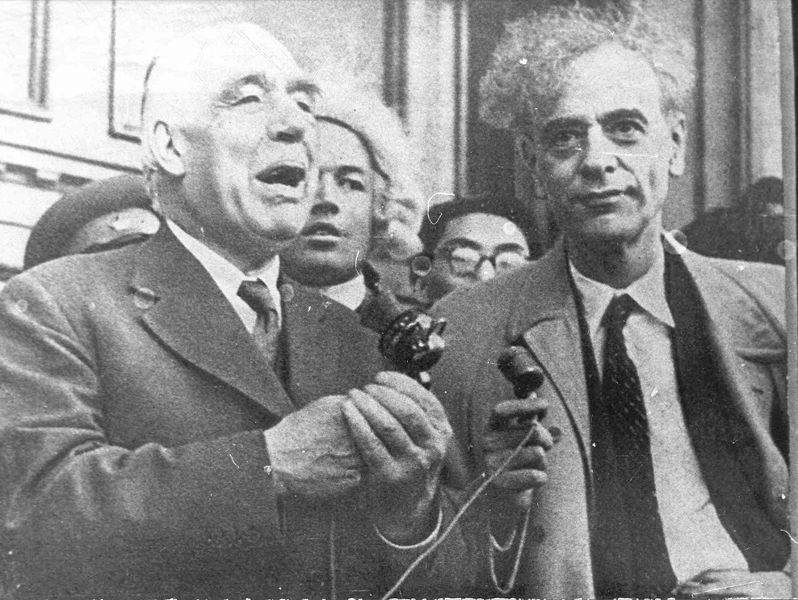 История в фотографиях (1961-1962) Фотография Льва Ландау, 1962 год