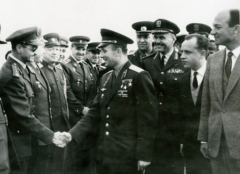 История в фотографиях (1961-1962) Фотография Юрия Гагарина, 1961 год