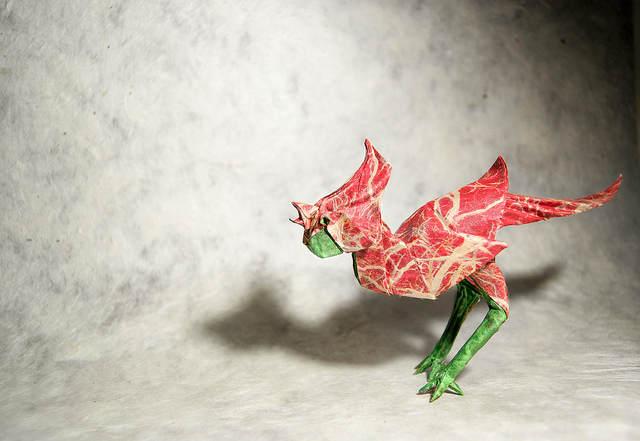 Необычные оригами Гонсало Гарсия Кальво (Gonzalo Garcia Calvo) 10