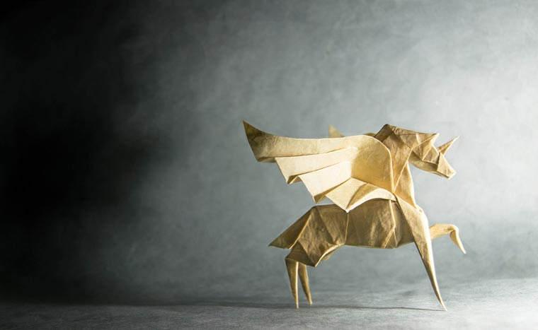 Необычные оригами Гонсало Гарсия Кальво (Gonzalo Garcia Calvo) 12