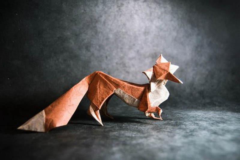 Необычные оригами Гонсало Гарсия Кальво (Gonzalo Garcia Calvo) 13
