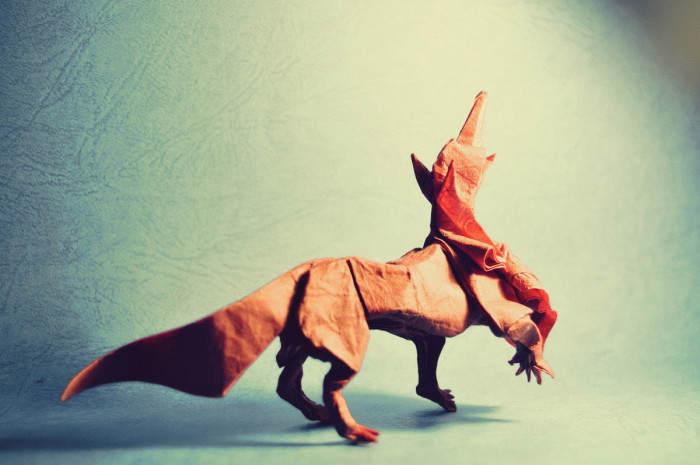 Необычные оригами Гонсало Гарсия Кальво (Gonzalo Garcia Calvo) 4