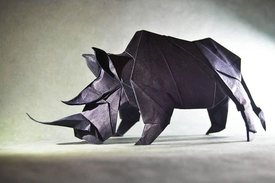 Необычные оригами Гонсало Гарсия Кальво (Gonzalo Garcia Calvo) 7