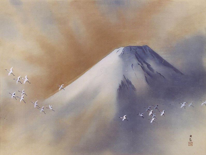 Ёкояма Тайкан (Yokoyama Taikan) 11