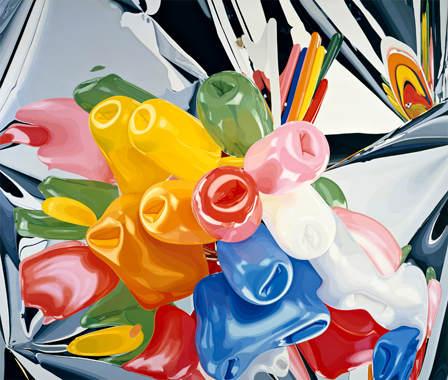 Зеркальные скульптуры Джеффри Кунса (Jeff Koons) 18