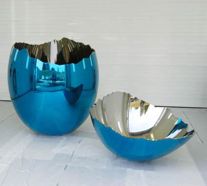 Зеркальные скульптуры Джеффри Кунса (Jeff Koons) 23