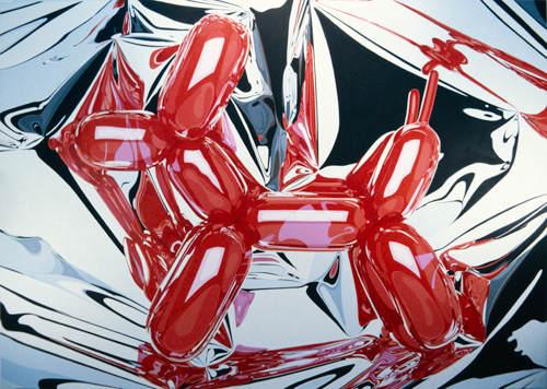 Зеркальные скульптуры Джеффри Кунса (Jeff Koons) 30