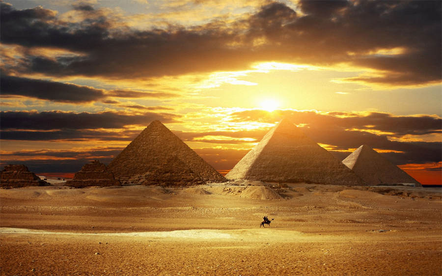 Пирамиды в Гизе и Большой Сфинкс. 15 мест, которые нужно посетить, прежде чем они исчезнут