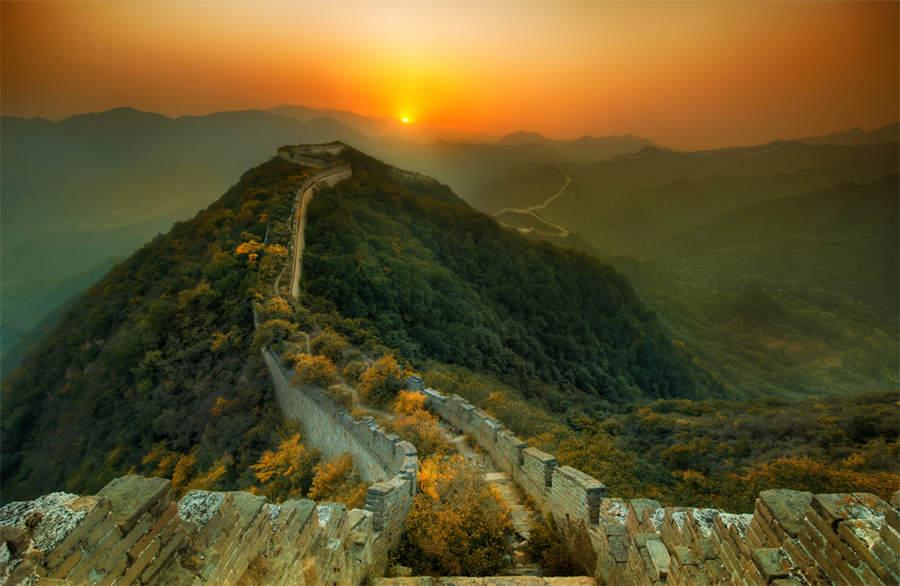 Великая Китайская стена. 15 мест, которые нужно посетить, прежде чем они исчезнут