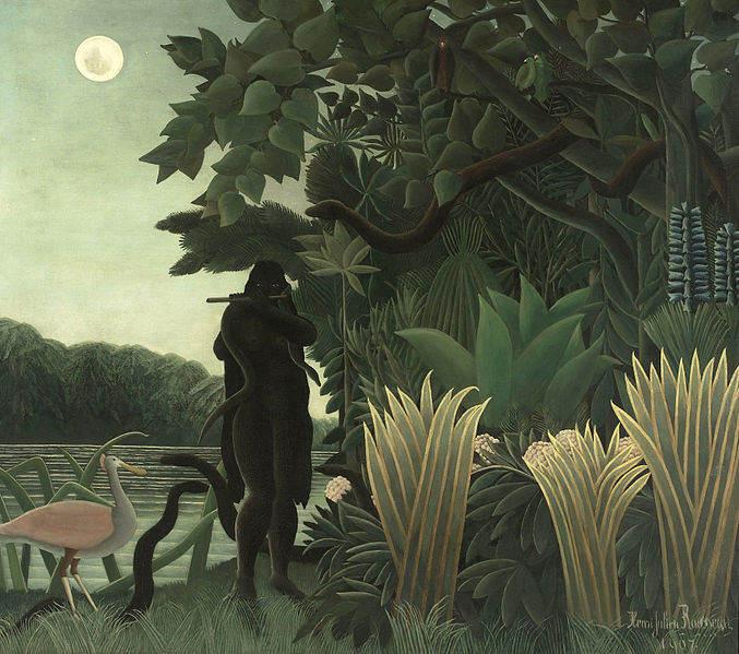 Французский примитивист - Анри Руссо (Henri Rousseau) 17
