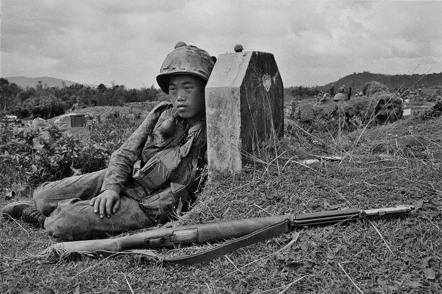 Вьетнамская война Тим Пэйдж (Tim Page) 12