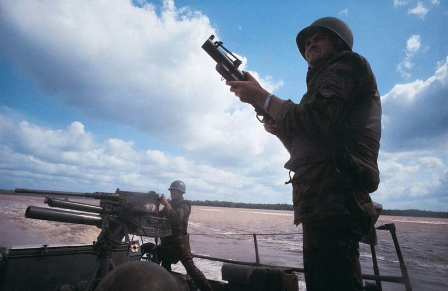 Вьетнамская война Тим Пэйдж (Tim Page) 14