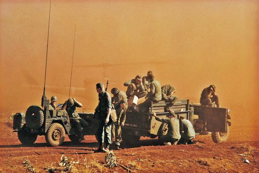 Вьетнамская война Тим Пэйдж (Tim Page) 5