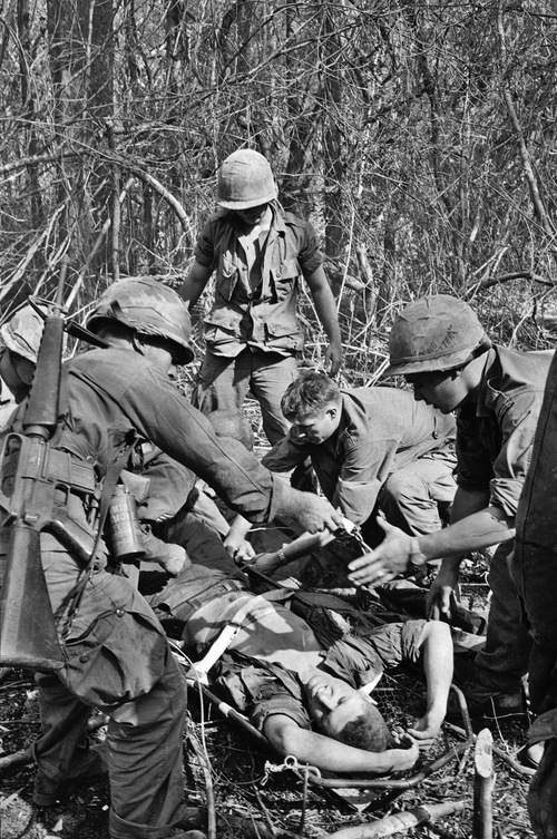 Вьетнамская война Тим Пэйдж (Tim Page) 7