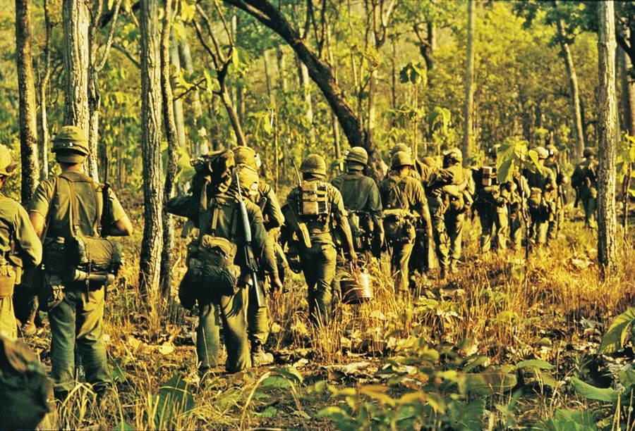 Вьетнамская война Тим Пэйдж (Tim Page) 9