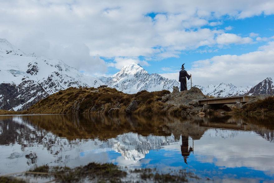«Гэндальф» путешествует по Новой Зеландии