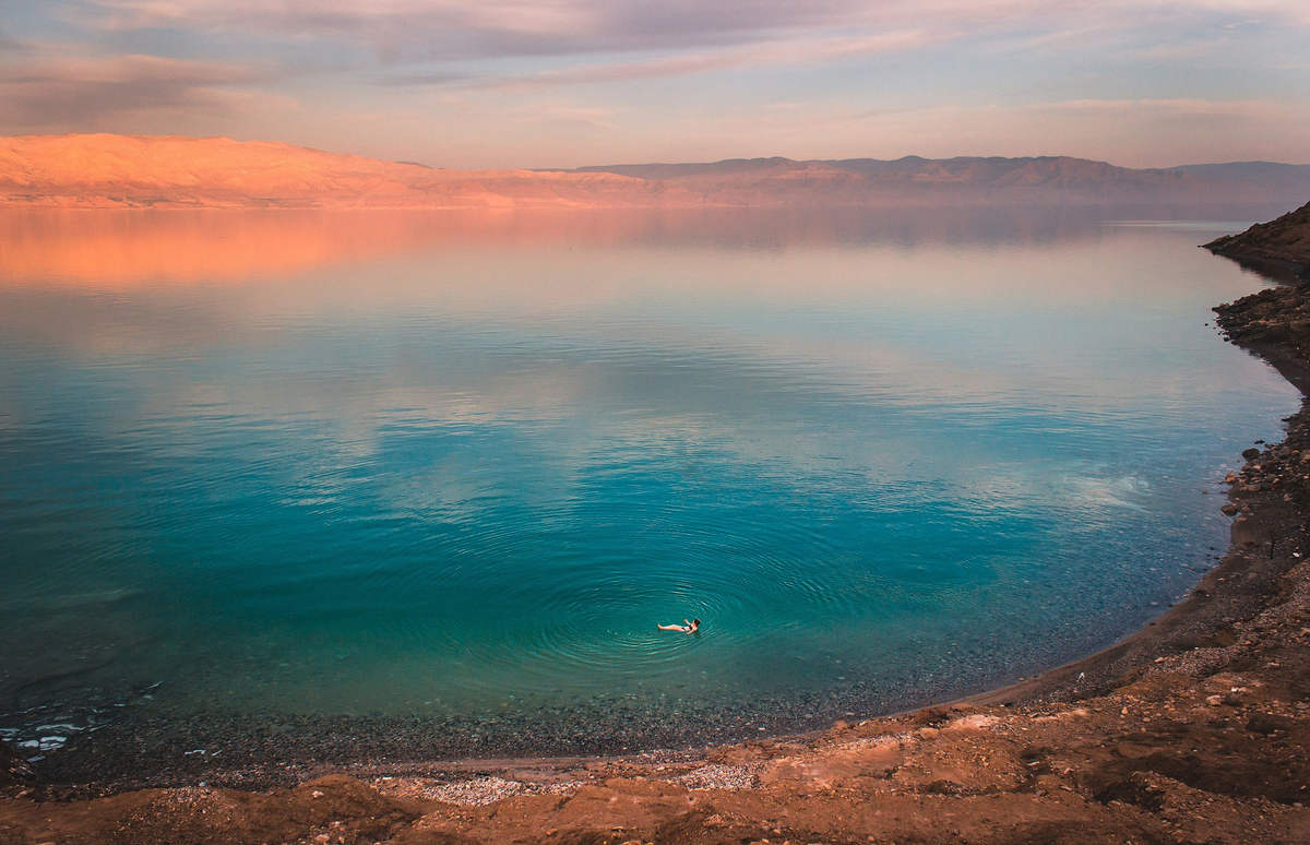 Элайн Фортуна (Aline Fortuna) - фото Мертвого моря
