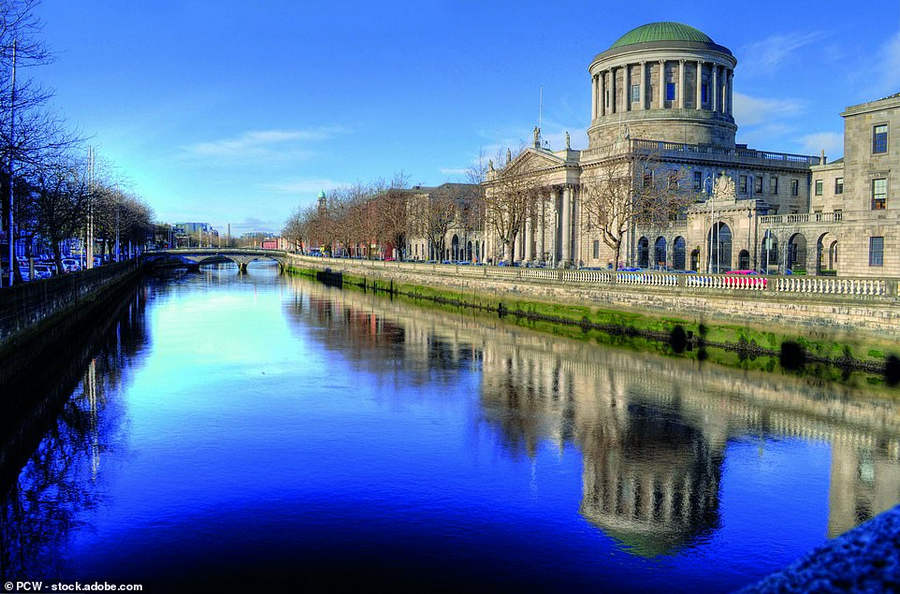 Здание четырёх судов в Дублине