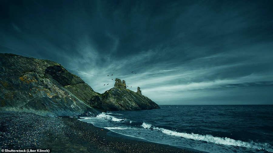 Черный замок в Уиклоу