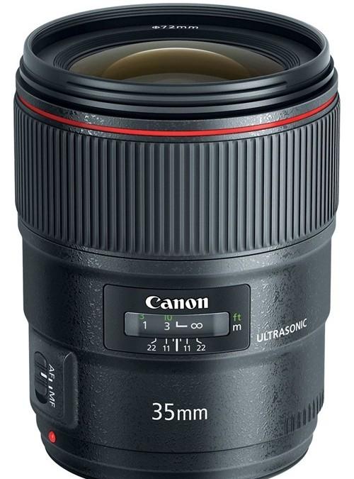Объектив Canon EF 35mm f/1.4L II USM для репортажной съемки