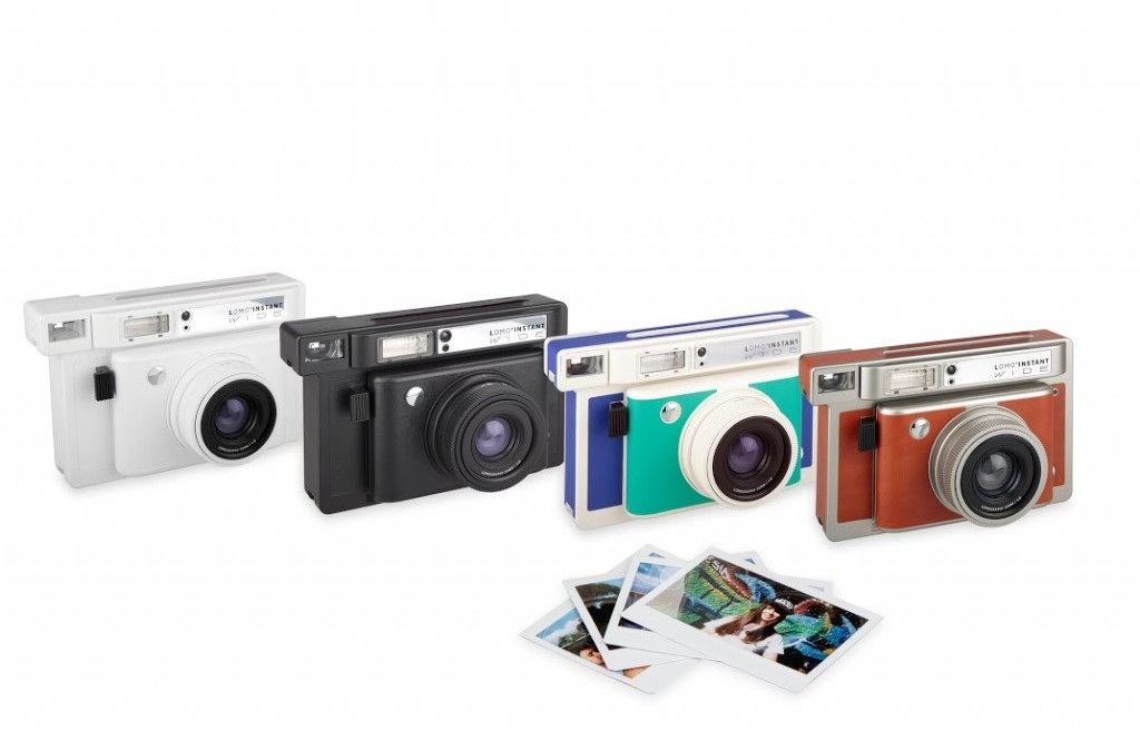 Lomography объявила о выходе фотоаппарата Lomo'instant Wide camera