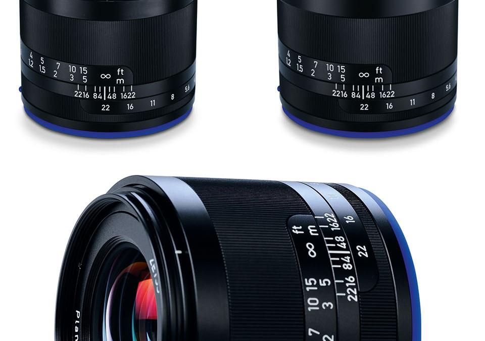 Объективы Loxia для фотоаппаратов формата Sony E