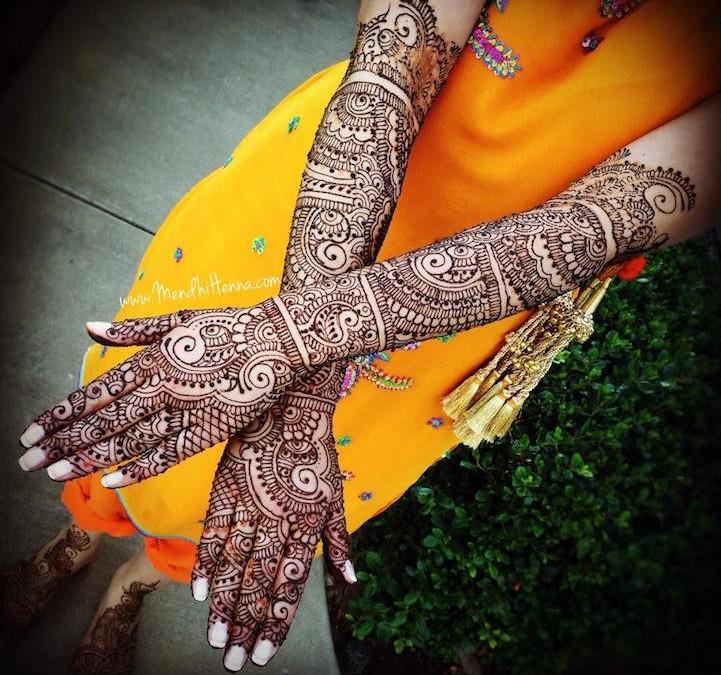 Идеи этнических татуировок хной с интересными узорами. 15 примеров