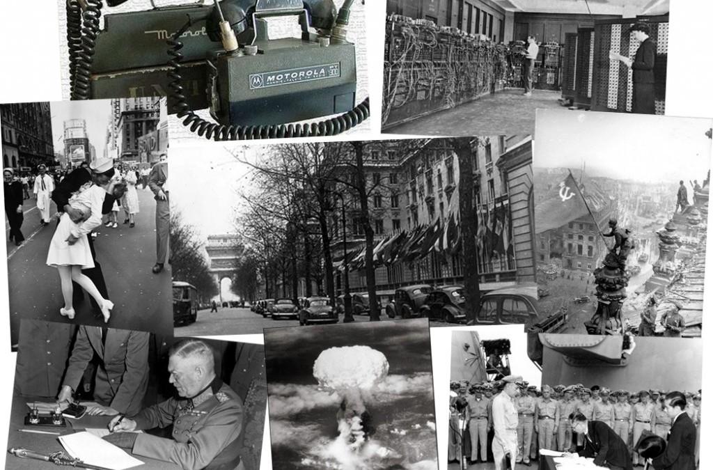 История в фотографиях (1945 — 1946)
