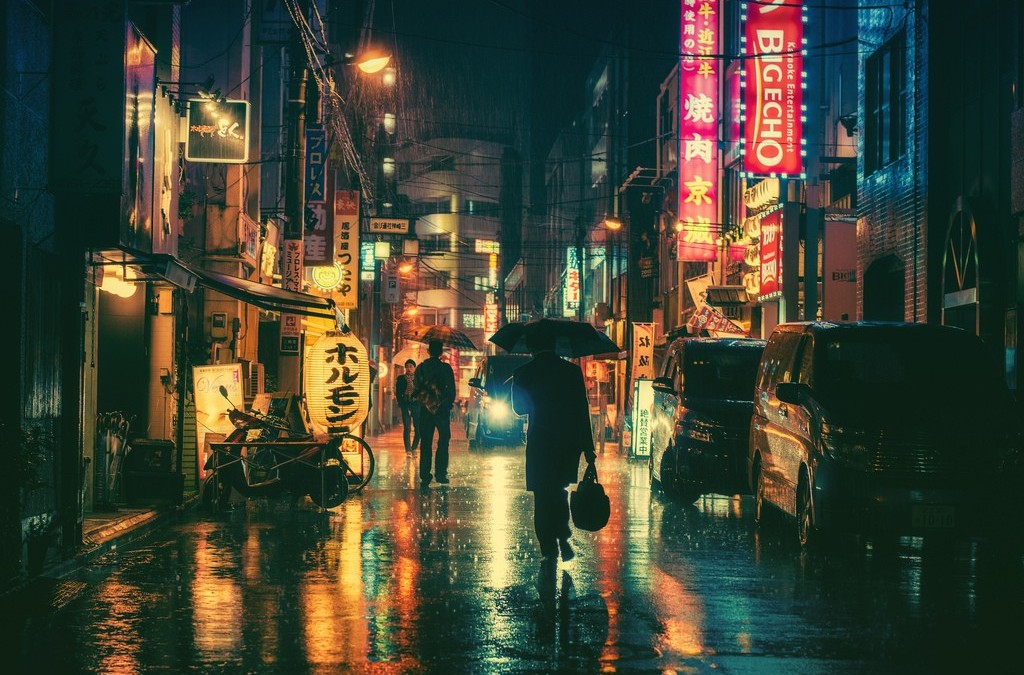 Кинематографические фотографии Токио — Masashi Wakui